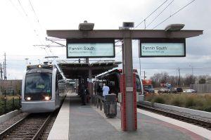 Fannin South Train Platform